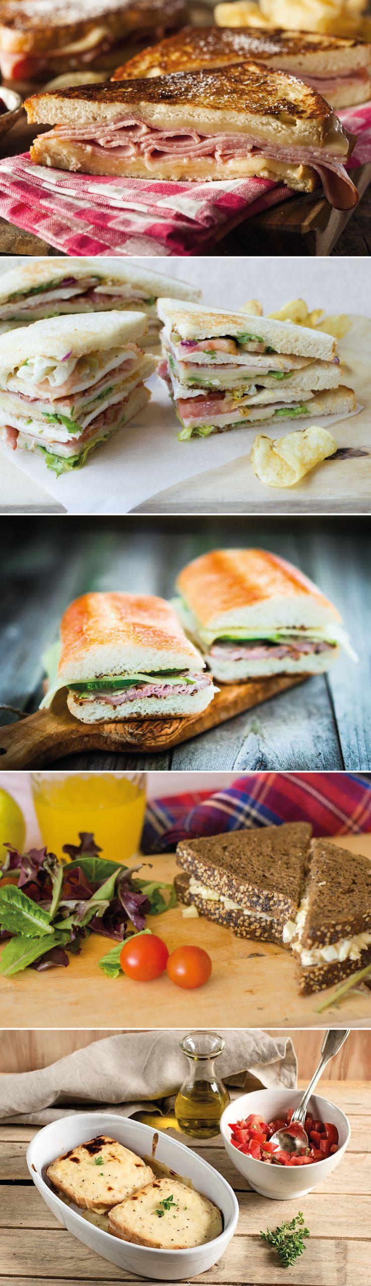 5 #Sandwich más famosos #receta