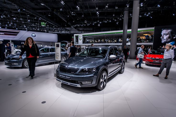 Imagine a family estate with space and comfort in abundance for both people and luggage.  Imagine a car that offers all this and, at the same time, an exciting handling and supreme ride, even under harsh conditions. That's the ŠKODA Octavia Scout #SKODAIAA #SKODA #OCTAVIASCOUT
