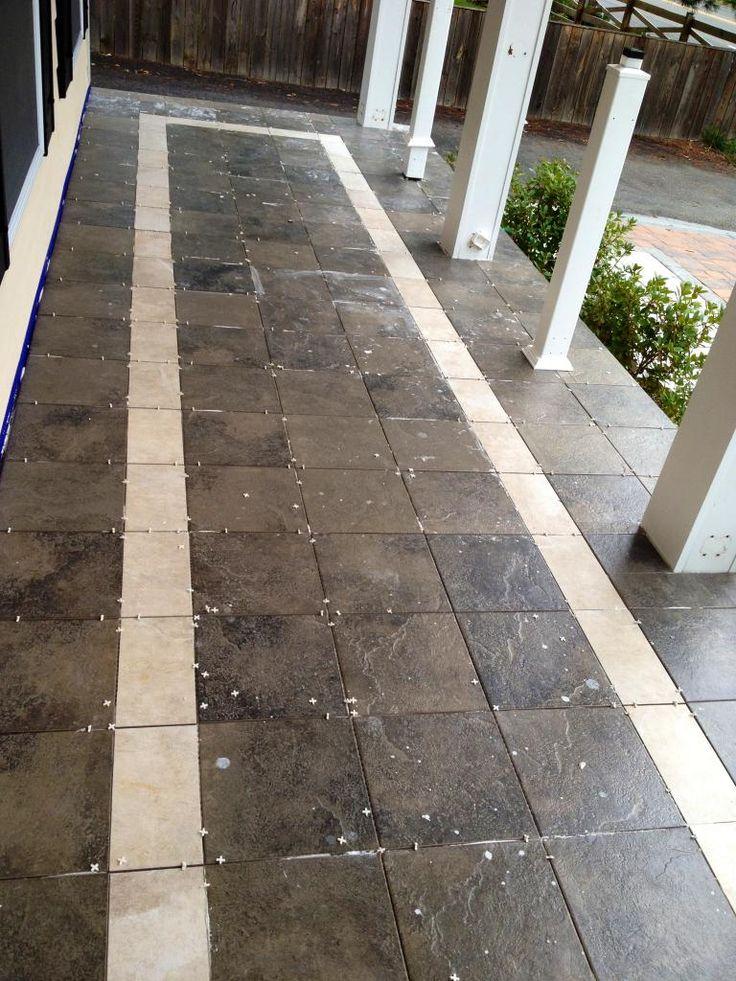 Floor Design Divine Picture Of Front Porch Decoration . Tiles