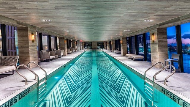 New York City S First Skybridge In 80 Years Has A Swimming Pool And Gym Inside It Shop Architects Architecture Building