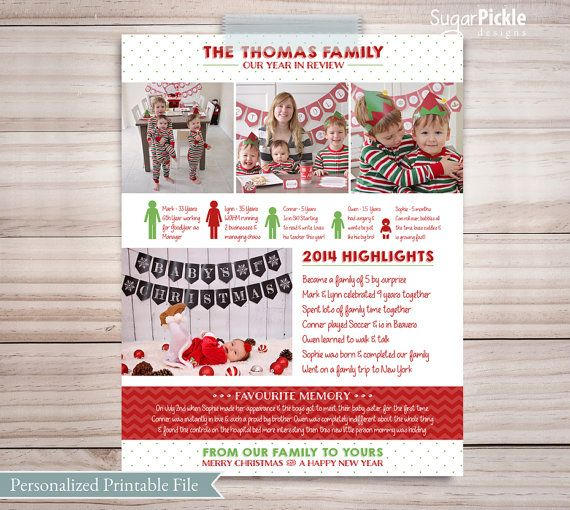 Best 25 christmas newsletter ideas on pinterest holiday for Christmas newsletter design ideas