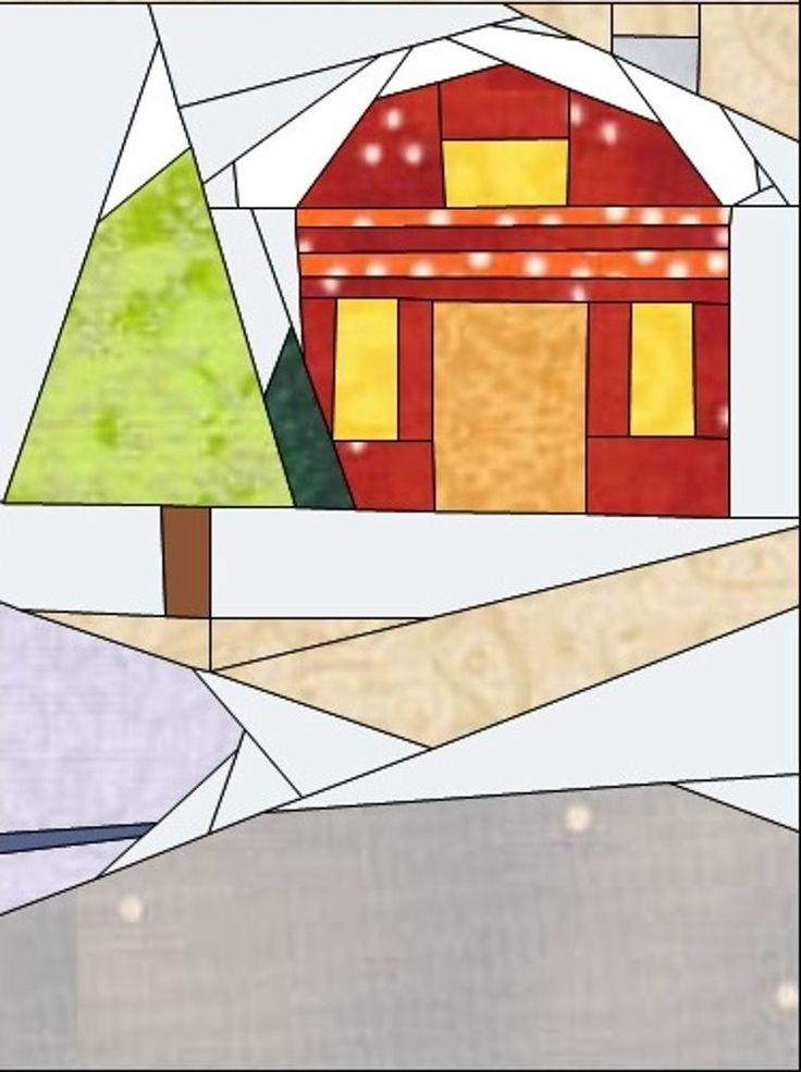 Gingerbread Village - Block #12 | Craftsy
