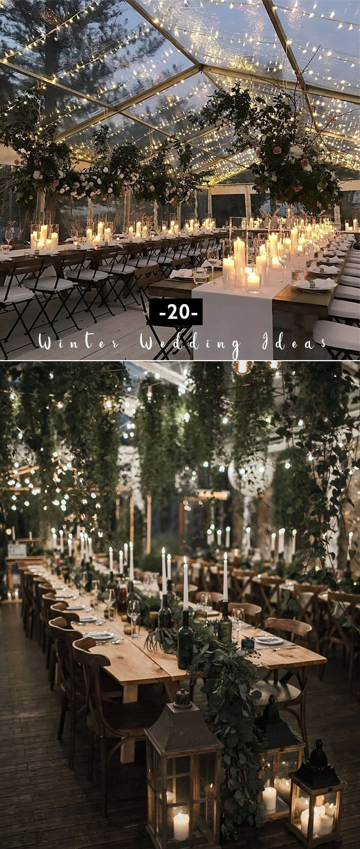 20 Greenery Crammed Winter Wedding ceremony Concepts to Encourage
