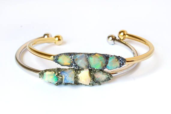 Hey, I found this really awesome Etsy listing at https://www.etsy.com/listing/262718816/raw-opal-jewelry-opal-bracelets-opal