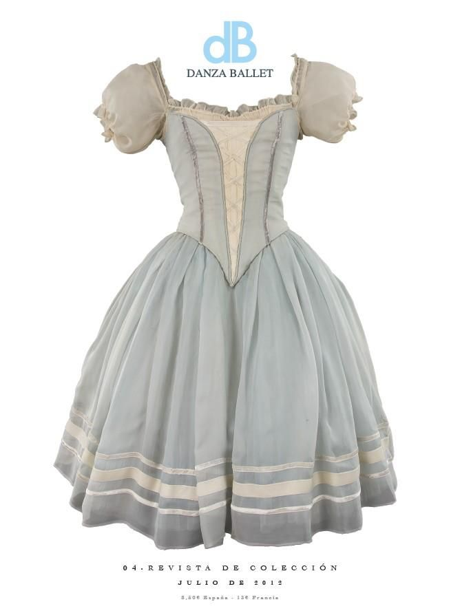 Gorgeous Ballet Costume. I want it for my Alice costume! - beautiful!! i love how it looks faded and old and worn in!! good for characters