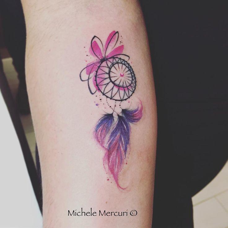 21 increíbles tatuajes de atrapasueños súper femeninos que despertarán tu lado espiritual - Vix