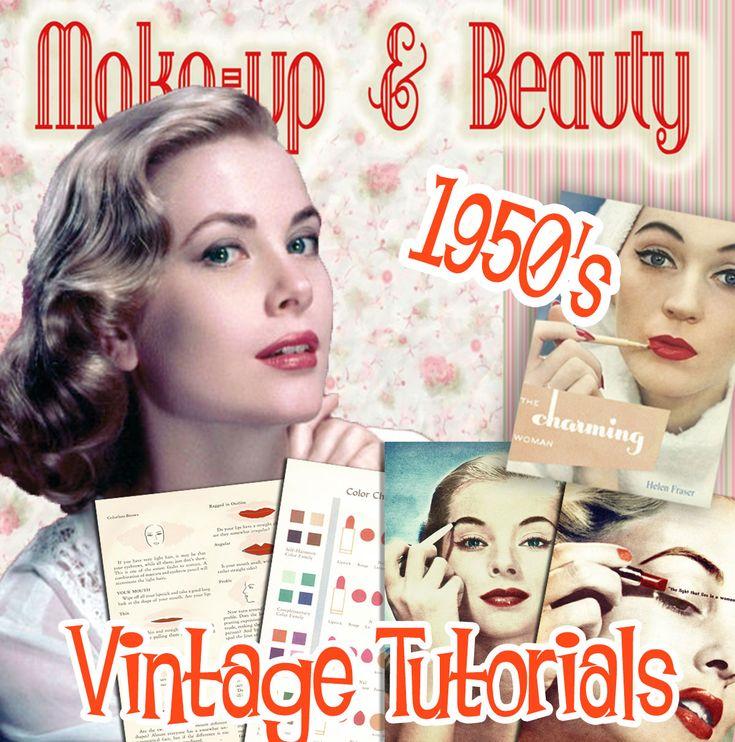 best 25 1950s makeup tutorial ideas on pinterest 1950