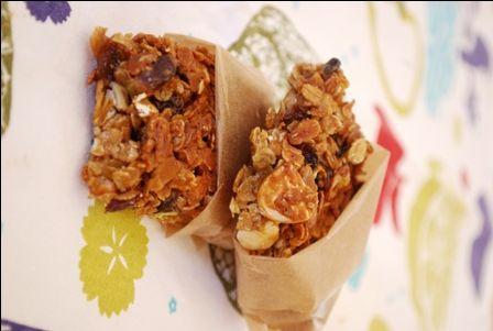 » Barres de céréales au beurre de cacahuète et aux fruits secs | Clea cuisine