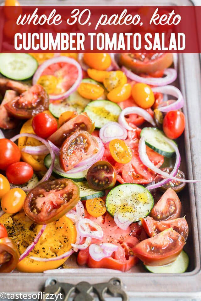 Use Garden Tomatoes And Cucumbers In An Easy Summer Salad Recipe