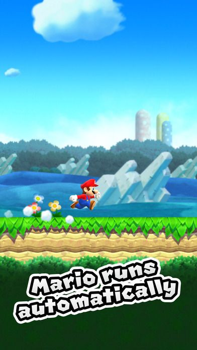 Super Mario Run is a single tap game that could be used with a switch. -Courage Kenny Rehabilitation Institute