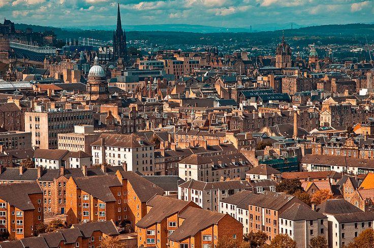 Roofs Of Edinburgh. Scotland Photograph by Jenny Rainbow