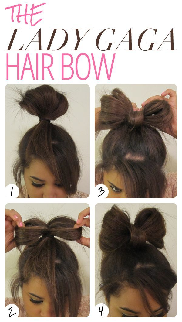 Best 25 bow hairstyle tutorial ideas on pinterest bow 16 ways to make an adorable bow hairstyle urmus Choice Image