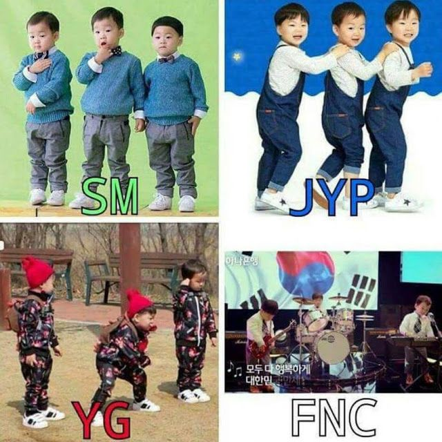 "If the ""Superman Returns"" Song Triplets Signed With SM, YG, JYP, or FNC?"