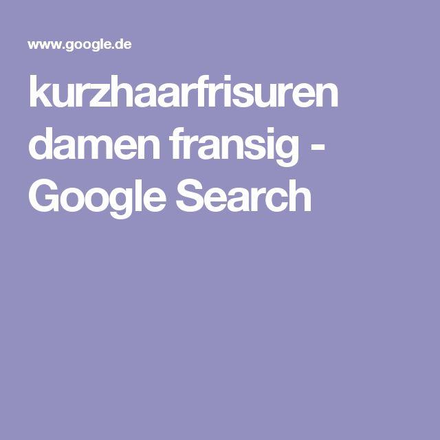 kurzhaarfrisuren damen fransig - Google Search