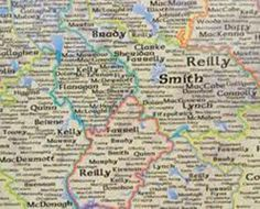 rishCentral.com has put together a list of the top 100 common Irish surnames with a little explanation of where these names come from.    Whether you're looking to trace your family crest or trying to trace your family roots this list will point you in the right direction.