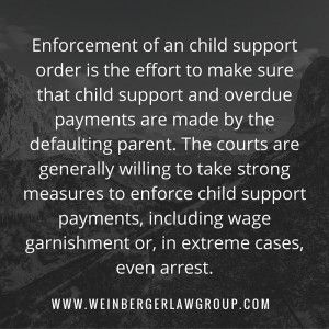 Enforcement of #childsupport http://www.weinbergerlawgroup.com/blog/newjersey-law-child-support/arrested-not-paying-child-support-risk/