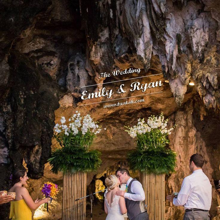 Magical Cave Wedding in Krabi, Thailand @Rayavadee Resort