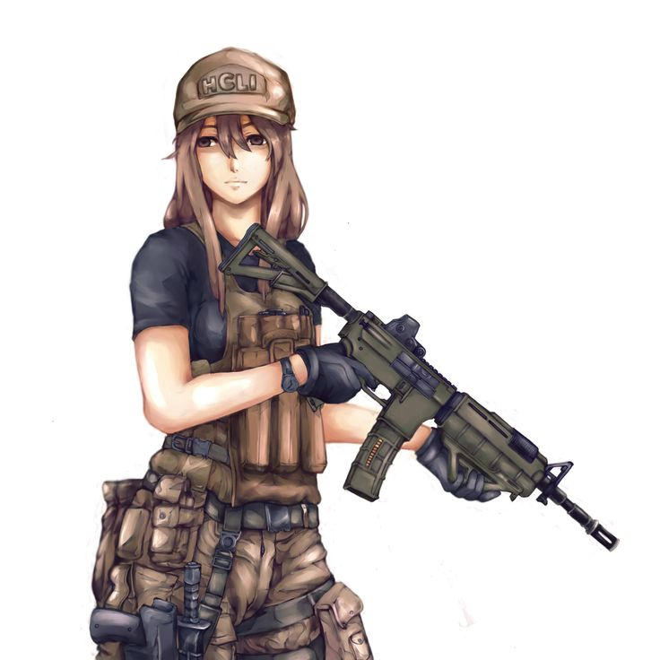 Cat Ears Person Soldier