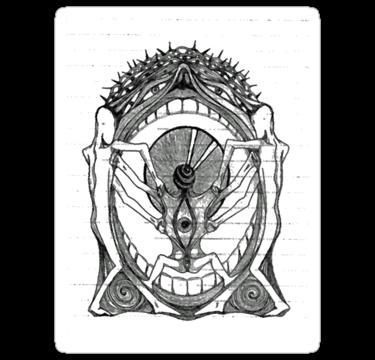 Fourtheye Sticker