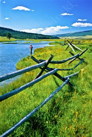 Jim Rowinski Photography - Photo detail - Fly Fishing Upper Green River, Wyoming