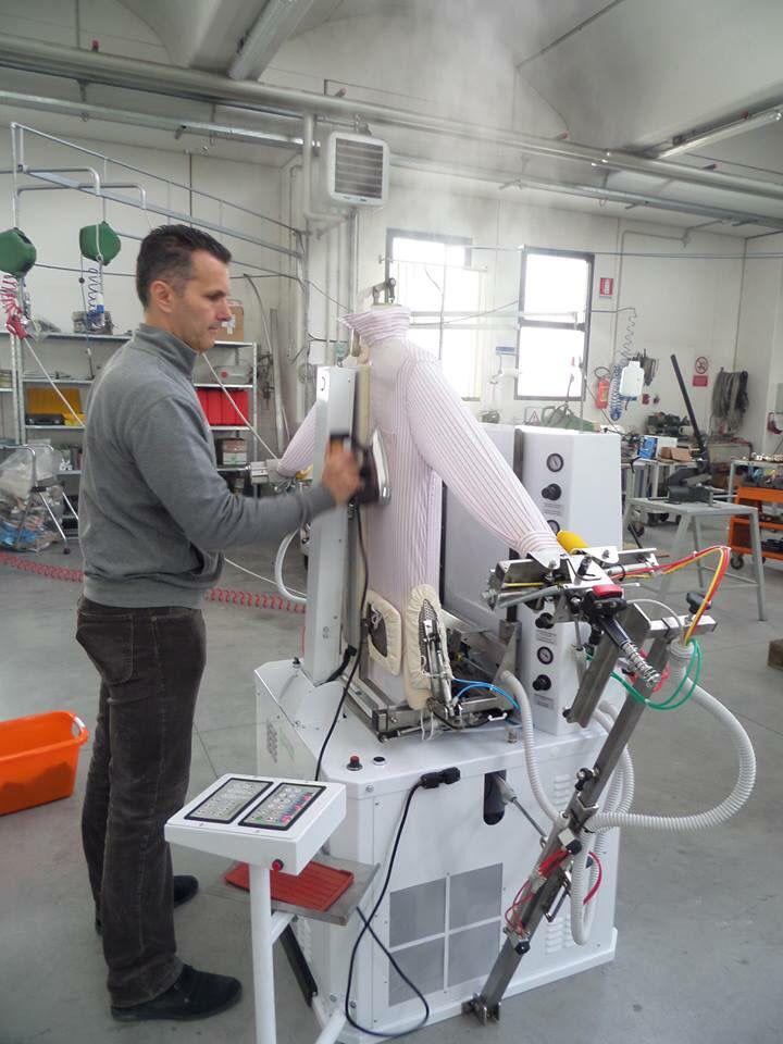 Machines on test at the Battistella factory. #UnitSteam