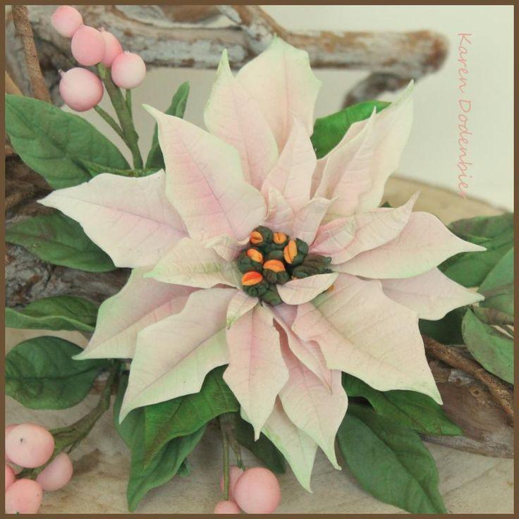 Light pink Pointsettia by Karen Dodenbier