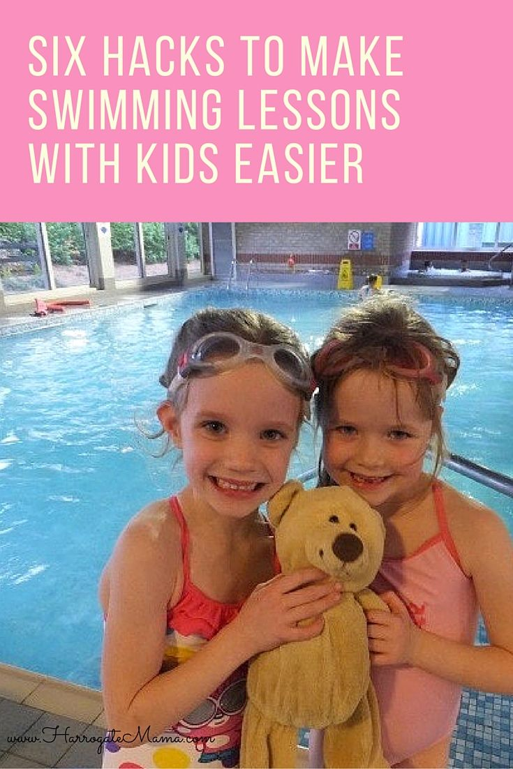 Six ways to make swimming lessons with kids more bearable