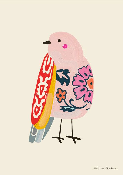 CLIP ART – oiseaux Mosaic – pour un utilization personnel et industrial