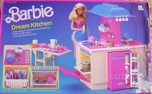 La Dream Kitchen di #Barbie   Chi non ha avuto una cucina bionda? #FGD