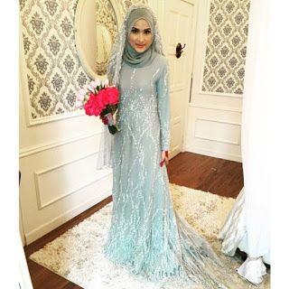 pink bubblegum princess: (GAMBAR)Baju tunang nikah kahwin Hanis ...