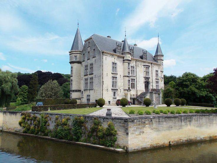 Valkenburg a.d. Geul (Limburg) - Schaloen Castle / Schloss Schaloen / Château de Schaloen