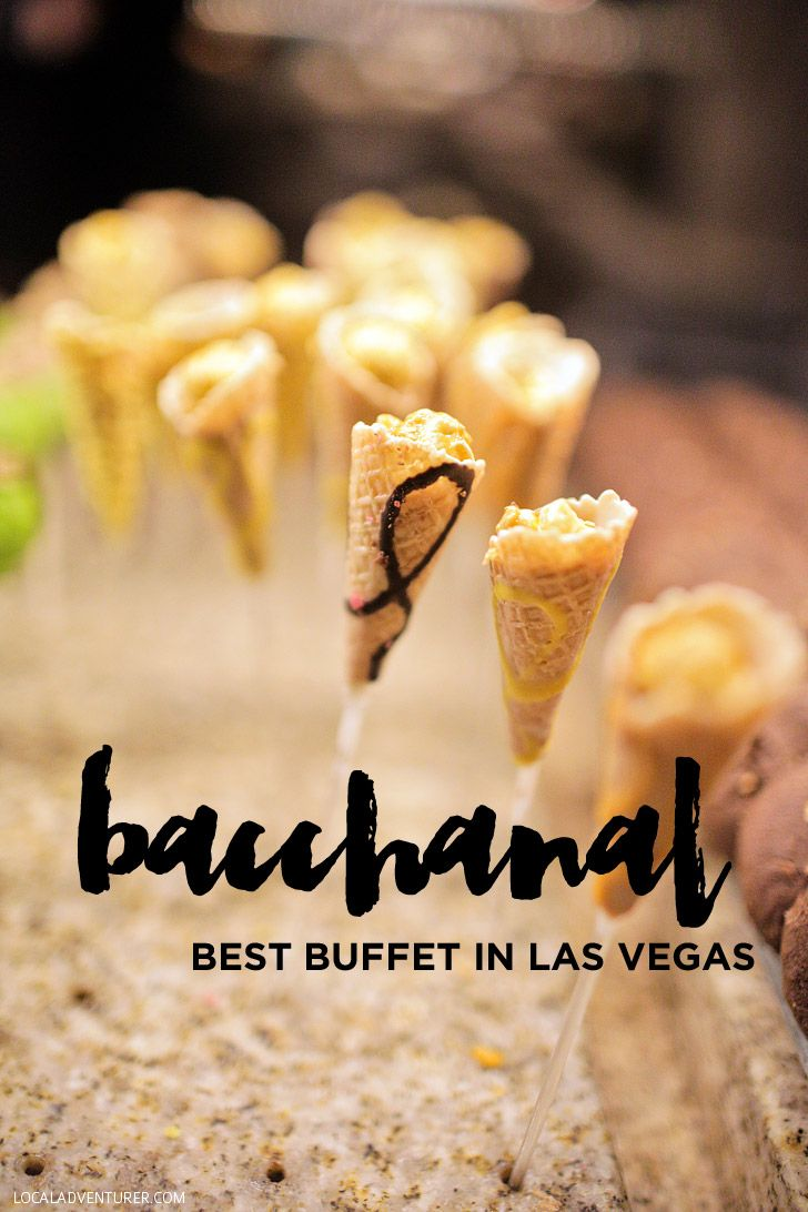 Bacchanal Buffet - the Best Buffet in Las Vegas.