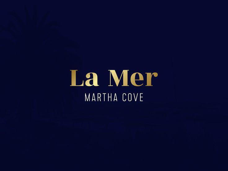 La Mer, Martha Cove - Logo by Small & Co