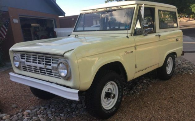 Solid Off Roader 1967 Ford Bronco Carros