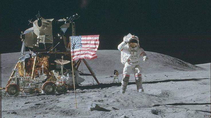 Thousands of photos taken by Apollo astronauts on moon missions are now online.