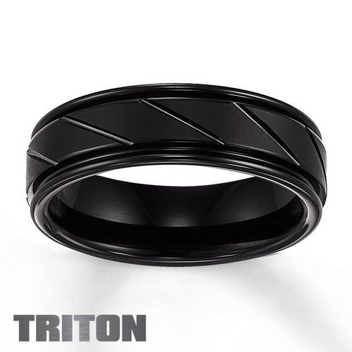 black wedding bands 2013 black wedding bands - Black Wedding Rings For Men