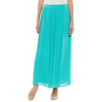 LC Lauren Conrad Pleated Chiffon Maxi Skirt - Women's