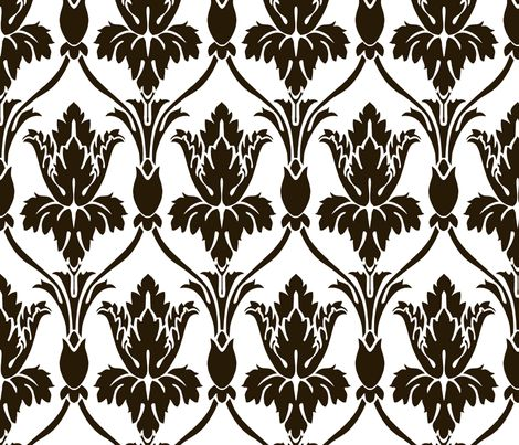 For my headboard > Sherlock Wallpaper White version - Real size! fabric by mellymellow on Spoonflower - custom fabric