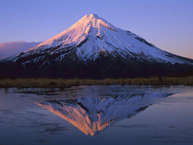 Mount Taranak, Egmont National Park, New Zealand