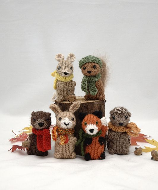Knitting Patterns For Forest Animals : Pin by Anna Davis Design on Knitting: Babies & Children Pinterest Woo...