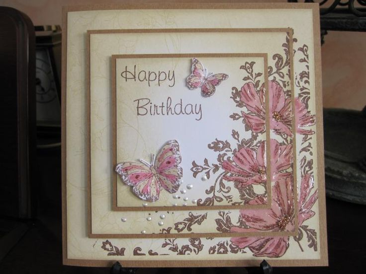 triple time stamping - Homemade Cards, Rubber Stamp Art, & Paper Crafts - Splitcoaststampers.com