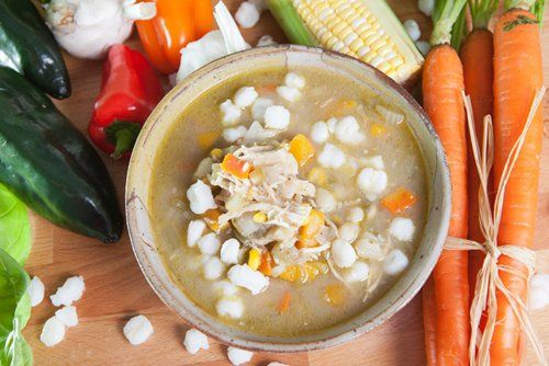 Give this flavorful Mexican soup a try in your slow cooker.