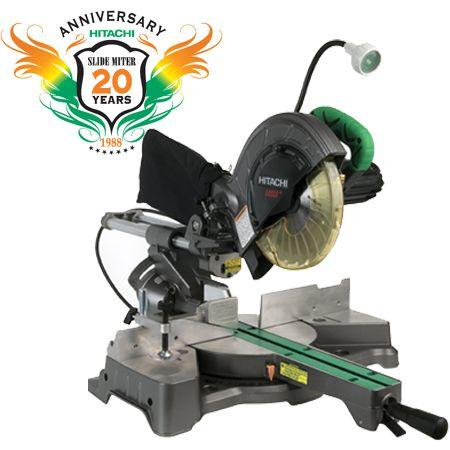 "Hitachi C8FSHE 8-1/2"""" Sliding Compound Miter Saw w/Laser Marker"