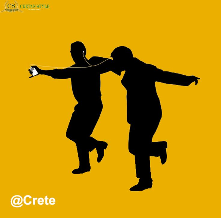 I Crete a play on the ipod add and the zorba dance...