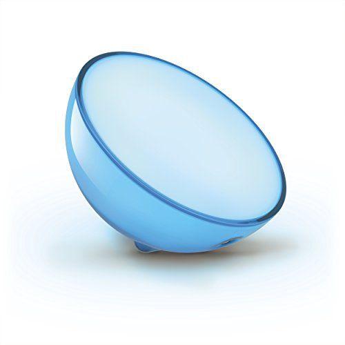 Philips – Hue Go: Price:75.99Des possibilités illimitées pour agencer votre système d'éclairage Ce luminaire sans fil portable est idéal…