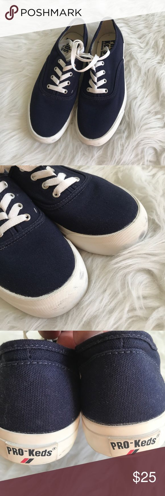PRO-KEDS Navy Tennis Shoes sz 7 Brand new pair of navy shoes by Pro-Keds. Size 7. Keds Shoes