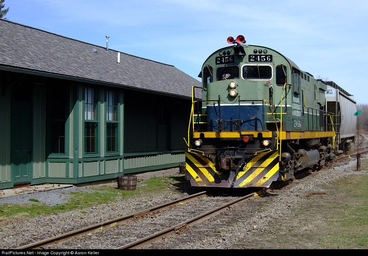 RailPictures.Net Photo: MHWA 2456 Mohawk, Adirondack & Northern Railroad Alco C425 at Holland Patent, New York by Aaron Keller