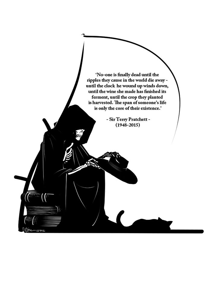 Death Is Not Cruel, Merely Terribly Effective by Inkthinker on @DeviantArt