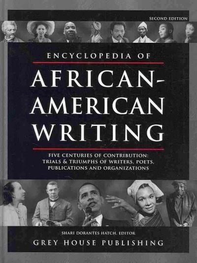 American literature -- African American authors -- Encyclopedias