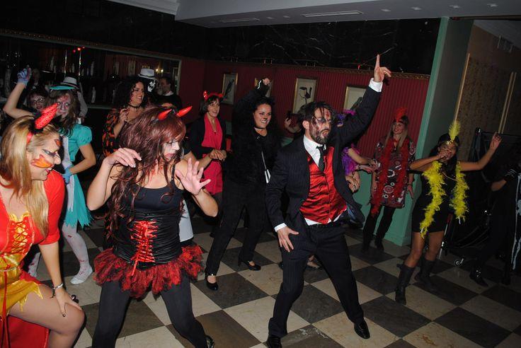 Baile Zombie en Halloween